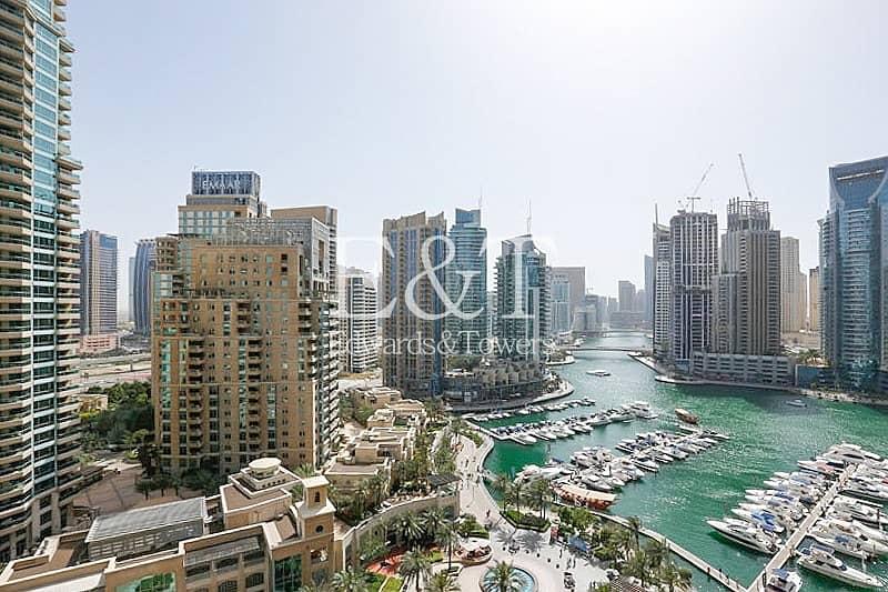 Exclusive|Beautiful Marina View|Rented|Mid Floor
