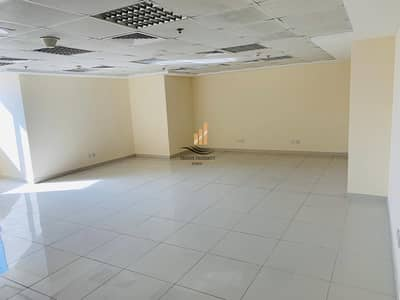 Office for Rent in Jumeirah Lake Towers (JLT), Dubai - Straight Lay out Fitted office No Partition Opp to Metro station in Fortune Executive