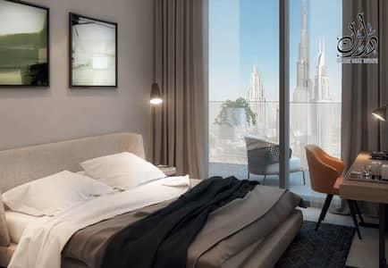 شقة 1 غرفة نوم للبيع في الخليج التجاري، دبي - Luxury flat  Burj Khalifa view Fully furniture  facilities in Payment plan