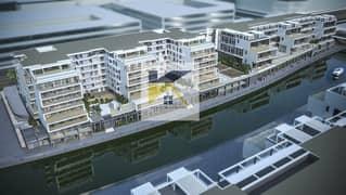 غرفتين وصالة بشاطئ الراحة \\ جاهزة \\اطلالة على القناة المائية مباشرة \\ شقة العمر \ فرصة محددة