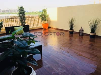 4 Bedroom Townhouse for Rent in Jumeirah Village Circle (JVC), Dubai - MARBLE FLOORING / WELL DESIGNED & MAINTAINED 4 BHK PLUS MAID ROOM