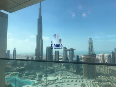 2 Bedroom Flat for Sale in Downtown Dubai, Dubai - Full Fountain | Burj Khalifa View | High Floor