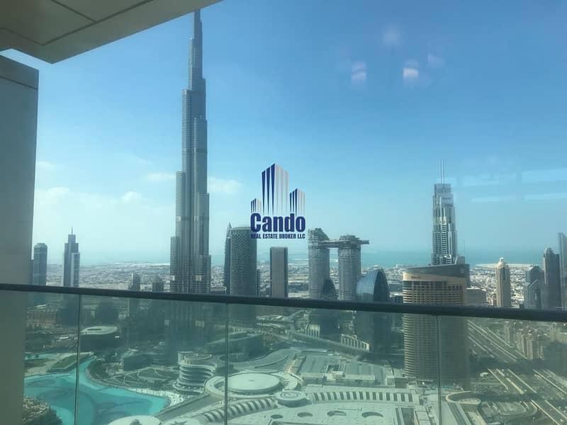Full Fountain | Burj Khalifa View | High Floor