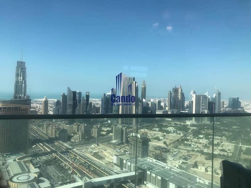12 Full Fountain | Burj Khalifa View | High Floor