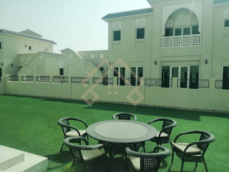 Well Maintained  4BR+Maid Villa With Big Garden | JVC..!