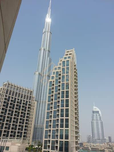 2 Bedroom Flat for Sale in Downtown Dubai, Dubai - Burj & Partial Fountain  View  2 Bedroom Rented  Apartment.