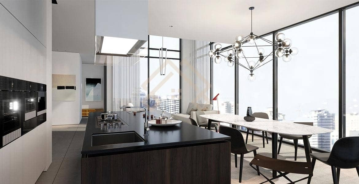 2 Own an Apartment with a Rental Price Finishing Lux..