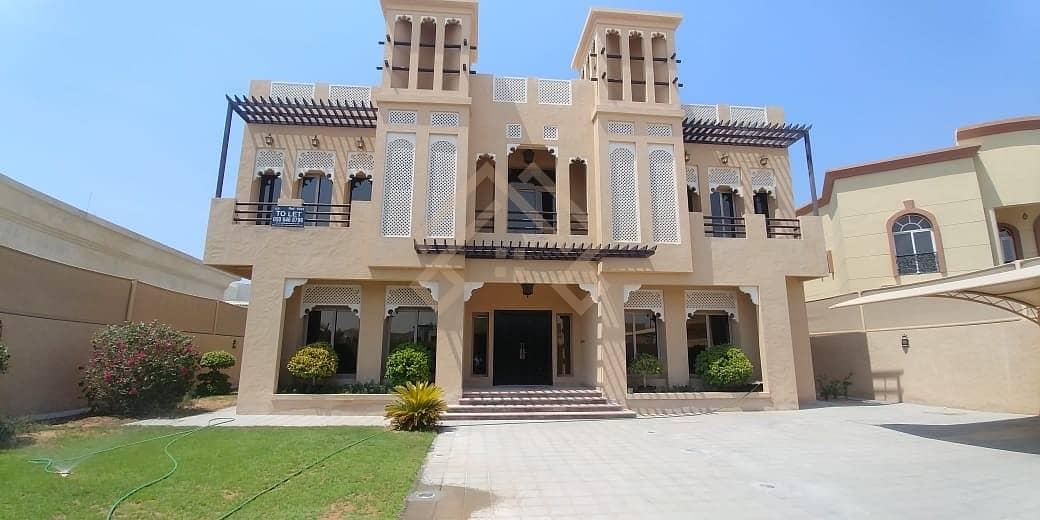 Luxury Modern 5BR Villa with elevator.