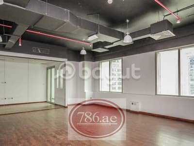 Brand New Spacious & Fitted Office | With Glass Partition