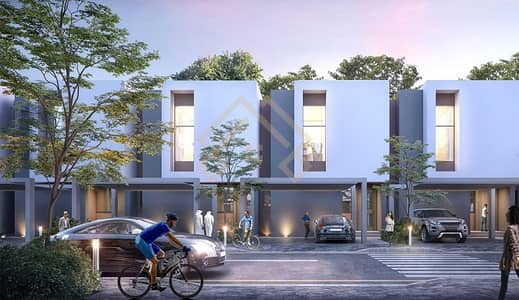 2 Bedroom Villa for Sale in Aljada, Sharjah - Affordable Price  2BR Villa for sale in Aljada.