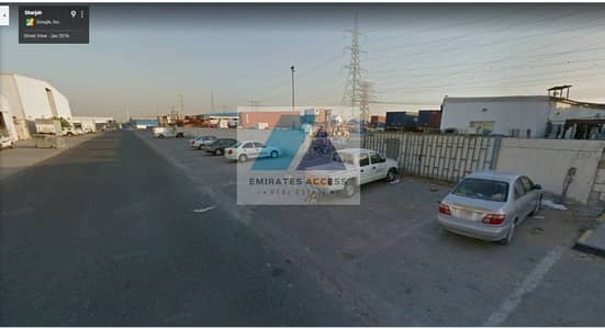 Plot for Sale in Industrial Area, Sharjah - 60000 sqft warehouse Land available for Sale in Industrial No 18 of Sharjah