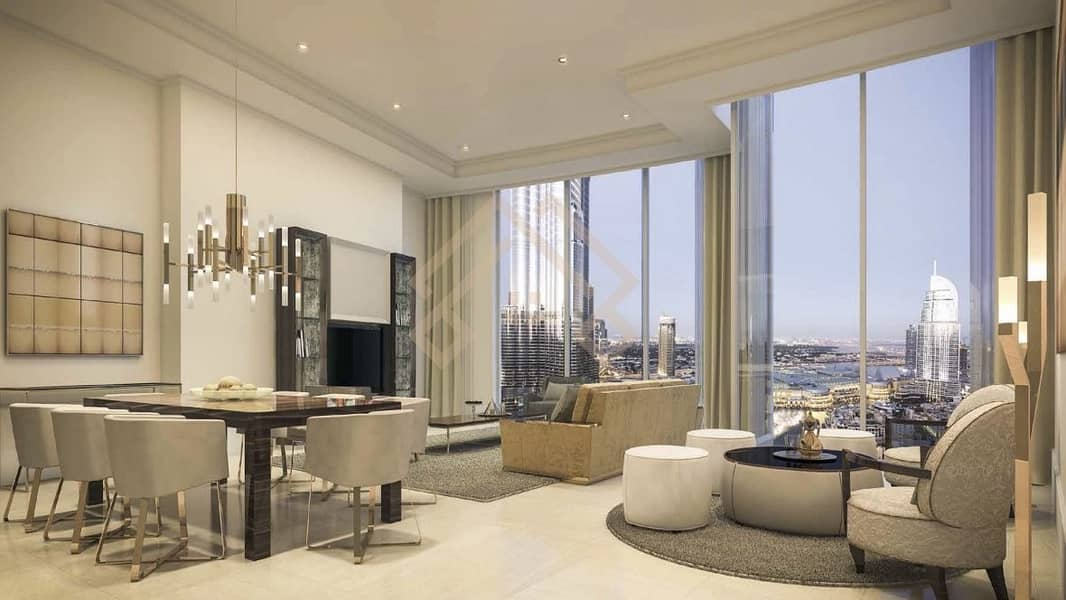 2 PRICED TO SELL|BURJ & FOUNTAIN VIEW.