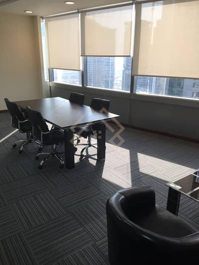 Office for Rent in Jumeirah Lake Towers (JLT), Dubai - Fitted |  High Floor | Office Space For Rent.