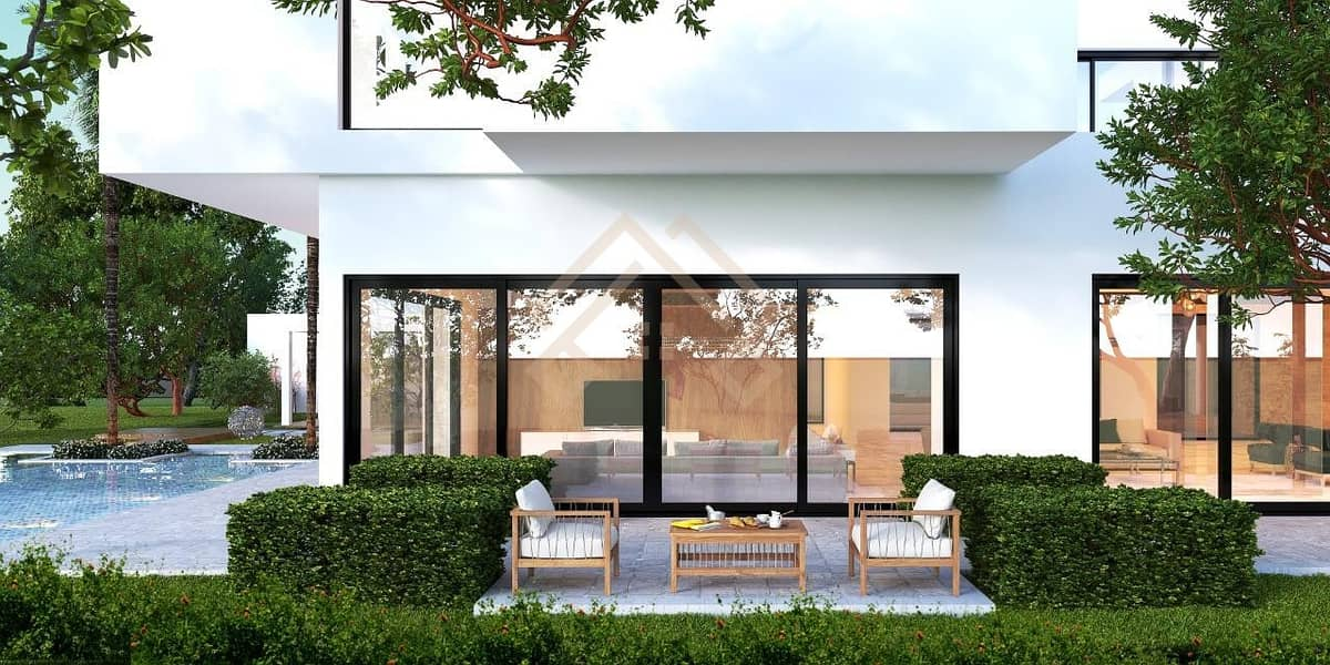 2 Modern  6 Bedroom Contemporary Villa- Large Plot with Pool..