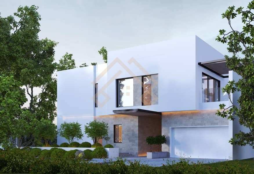 Modern  6 Bedroom Contemporary Villa- Large Plot with Pool..