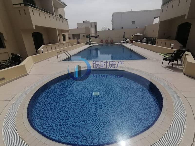 2 3 Bed plus maids compound villa With Pool and gym