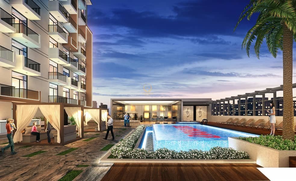 12 5 year payment plan| Pay 1% per month| Semi Furnished| Booking at 10%