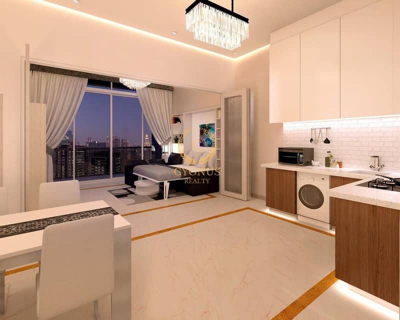 2 1% payment plan| Pay 40% till handover| Semi Furnished| 5 years payment plan
