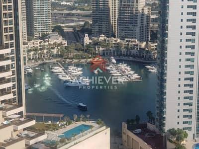 Studio for Rent in Dubai Marina, Dubai - Marina & Sea View | Mid Floor | Stunning Studio