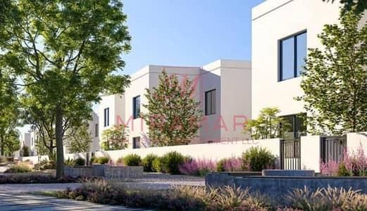 4 Bedroom Villa for Sale in Yas Island, Abu Dhabi - HOT BEST INVESTMENT!!! 4B+MAIDS!! CORNER UNIT! SINGLE ROW! NOYA PROJECT!