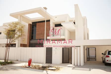 4 Bedroom Villa for Rent in Yas Island, Abu Dhabi - SINGLE ROW WITH PARK VIEW!!! LUXURY 4B+MAIDS VILLA!!