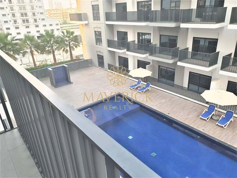 30 Brand New 1BR | 2 Balconies | Pool View