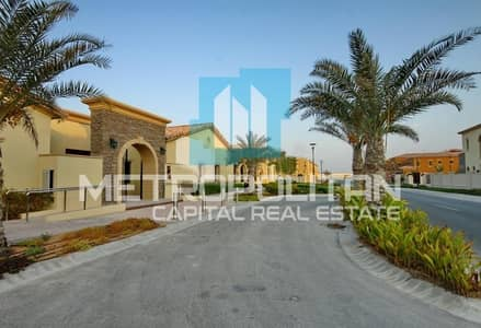 4 Bedroom Villa for Sale in Saadiyat Island, Abu Dhabi - Mediterranean Quadplex | Single Row| Big Garden