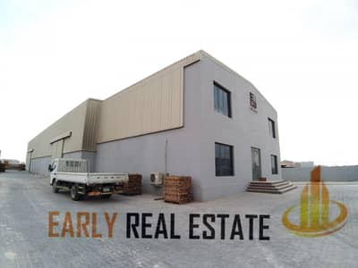 Warehouse for Sale in Mussafah, Abu Dhabi - WAREHOUSE SALE IN ICAD I OFFICE I YARD