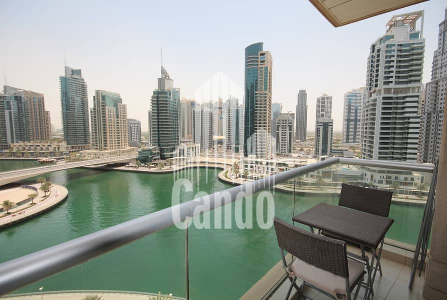 Fully Furnished One Bed Full Marina View