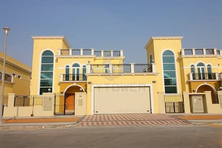 4 Bedroom Villa for Sale in Jumeirah Park, Dubai - Upgraded  4 Bedroom  Legacy Nova District 9 Single Row