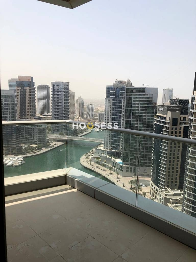 Marina view | partial sea view | Unfurnished