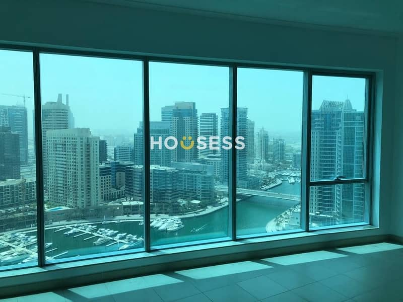 2 Marina view | partial sea view | Unfurnished