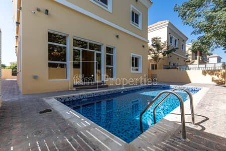 4 Bedroom Villa for Sale in The Villa, Dubai - Backing/Facing Parks 4BR w/Fenced Pool