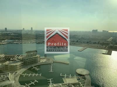 3 Bedroom Flat for Rent in Al Reem Island, Abu Dhabi - 3BR+M Apt with Balcony & Marina View | Multiple Payments