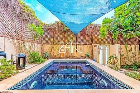 تاون هاوس 4 غرف نوم للبيع في حدائق الراحة، أبوظبي - Modified Corner Single Row 4 BR Type A with Pool