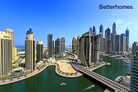 3 Bedroom Flat for Sale in Dubai Marina, Dubai - Marina View | High Floor | 2 car parking