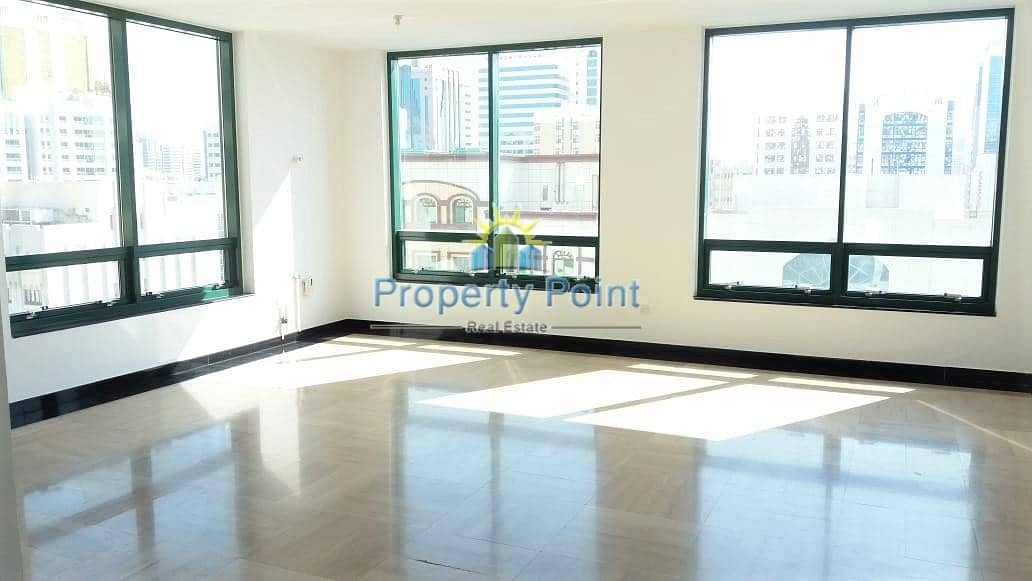 2 Reduced Price | Spacious 3-bedroom Unit | Maids Rm | Parking | Hamdan Street