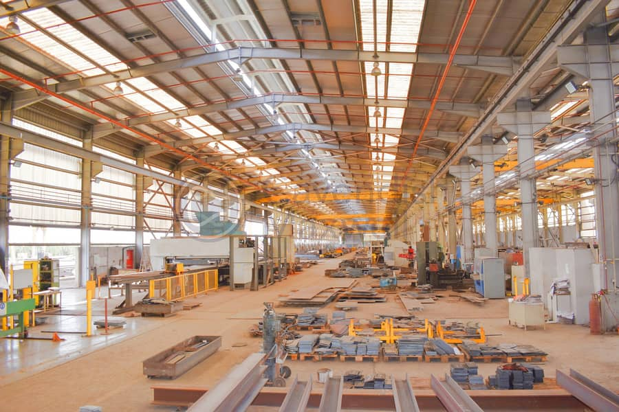 Warehouse with Production Facility | G+1 Office