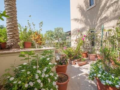 فلیٹ 3 غرف نوم للبيع في جزيرة السعديات، أبوظبي - Ground floor corner unit with large terrace