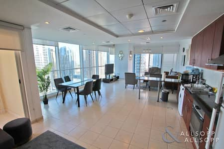 1 Bedroom Apartment for Rent in Jumeirah Lake Towers (JLT), Dubai - Furnished | 1354 Sqft | High Floor l 1 Bed