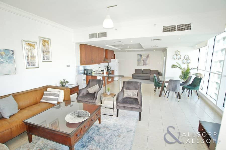 2 Furnished | 1354 Sqft | High Floor l 1 Bed
