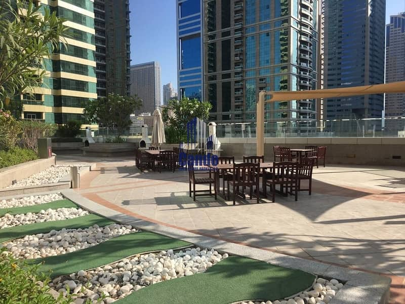 4 Lower floor With balcony Lake view Near JLT Metro