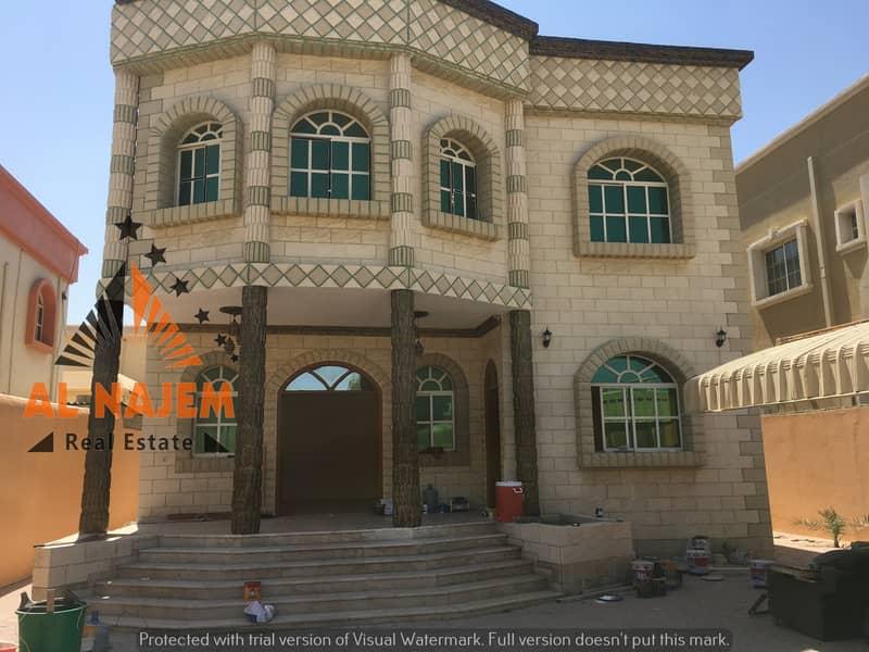 a villa For rent similar to a palace in Ajman rawda 3. . . . . . . . . //