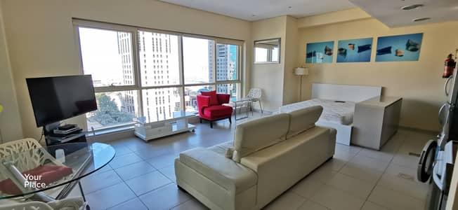Studio for Sale in Dubai Marina, Dubai - Full sea view - with nice layout