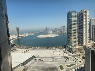 2 Bedroom Flat for Rent in Al Taawun, Sharjah - 45 days free Spacious 2 BHK Appartment with Sea View with Gym Pool Free near to KFC just in 36 k