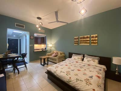 Studio for Rent in Discovery Gardens, Dubai - Hall