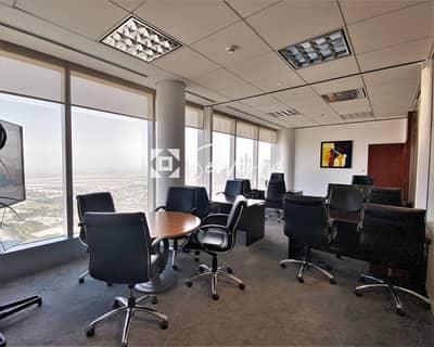 مکتب  للايجار في شارع الشيخ زايد، دبي - Prime Business Address in Downtown Dubai with 5-star amenities