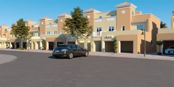 تاون هاوس 4 غرف نوم للبيع في مدينة دبي الرياضية، دبي - Reserve Yours Today/ 4BHK Townhouse + Maids Room at Marbella Village