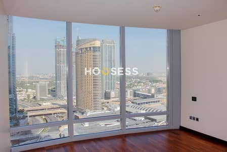 3 Bedroom Flat for Rent in Downtown Dubai, Dubai - Stunning 3BR | Partial Sea and SZR Views