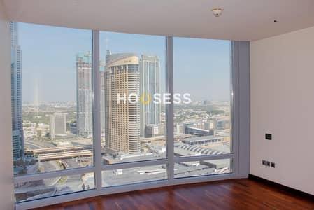فلیٹ 3 غرف نوم للايجار في وسط مدينة دبي، دبي - Stunning 3BR | Partial Sea and SZR Views